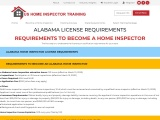 ALABAMA LICENSE REQUIREMENTS  US Home Inspector Training