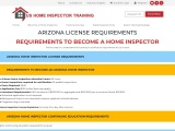 ARIZONA LICENSE REQUIREMENTS – US Home Inspector Training