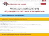 ARKANSAS LICENSE REQUIREMENTS – US Home Inspector Training