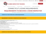 CONNECTICUT LICENSE REQUIREMENTS – US Home Inspector Training