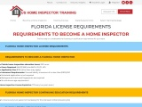 FLORIDA LICENSE REQUIREMENTS – US Home Inspector Training