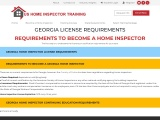 GEORGIA LICENSE REQUIREMENTS – US Home Inspector Training