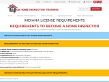 INDIANA LICENSE REQUIREMENTS | US Home Inspector Training