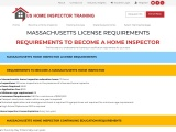 MASSACHUSETTS LICENSE REQUIREMENTS – US Home Inspector Training