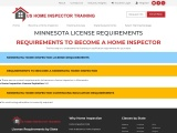 MINNESOTA LICENSE REQUIREMENTS – US Home Inspector Training