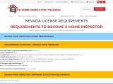 NEVADA LICENSE REQUIREMENTS – US Home Inspector Training
