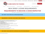 NEW JERSEY LICENSE REQUIREMENTS – US Home Inspector Training