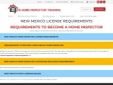 NEW MEXICO LICENSE REQUIREMENTS – US Home Inspector Training