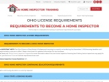 OHIO LICENSE REQUIREMENTS – US Home Inspector Training