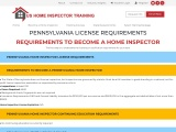 PENNSYLVANIA LICENSE REQUIREMENTS – US Home Inspector Training