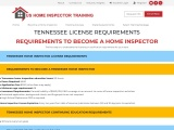 TENNESSEE LICENSE REQUIREMENTS – US Home Inspector Training