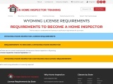 WYOMING LICENSE REQUIREMENTS – US Home Inspector Training
