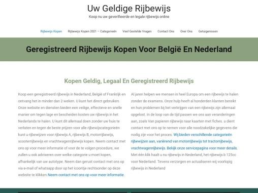 Rijbewijs Kopen Online – Rijbewijs Kopen – Geregistreerd Rijbewijs Kopen