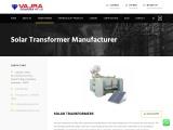 Best Solar panel transformer manufacturer in Hyderabad