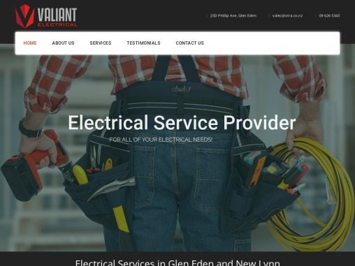 Valiant Electrical offer trusted workmanship and high quality customer service for all things electr