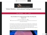 Valiant Market |  Bitcoin – Canada