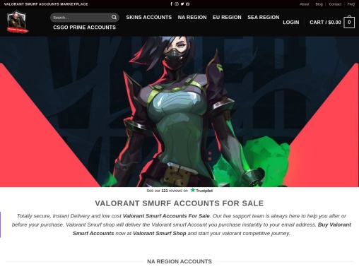 Buy Valorant Accounts – Instant Delivery