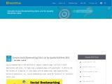 Best Social Bookmarking Site List for Quality Backlinks