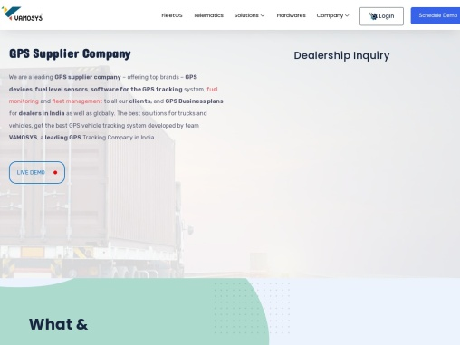 GPS Supplier Company | GPS Dealership