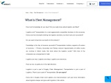 What is Fleet Management | what is meant by fleet management