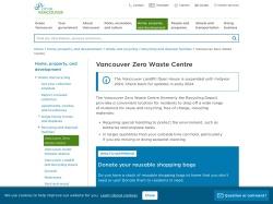 Vancouver Zero Waste Centre