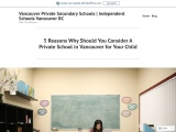 5 Reasons Why Should You Consider A Private School in Vancouver for Your Child