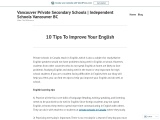 10 Tips To Improve Your English