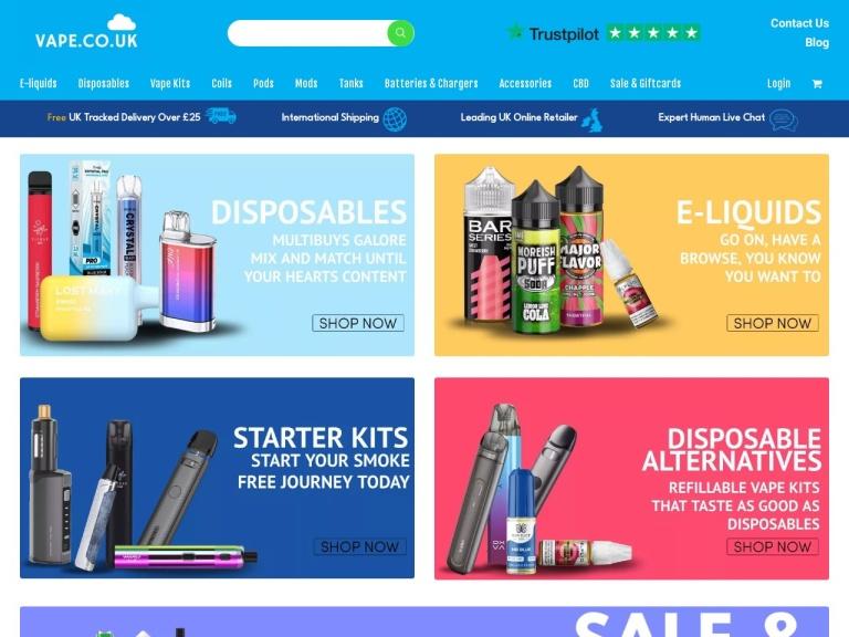 Vape.co.uk Discount Codes screenshot