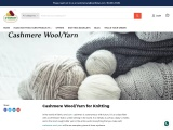 Cashmere Wool/Yarn For Knitting