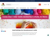 hand knitting yarn manufacturers in india