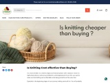 IS KNITTING COST EFFECTIVE THAN BUYING?