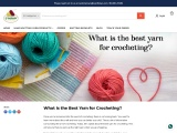 what is the best yarn for crocheting