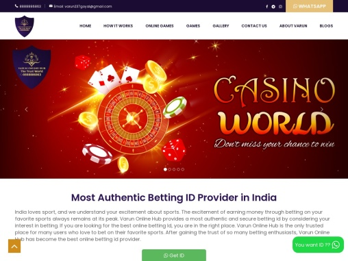 Top 5 online bookie in Bangalore, India & Asia | Playing id provider | roulette id provider | super