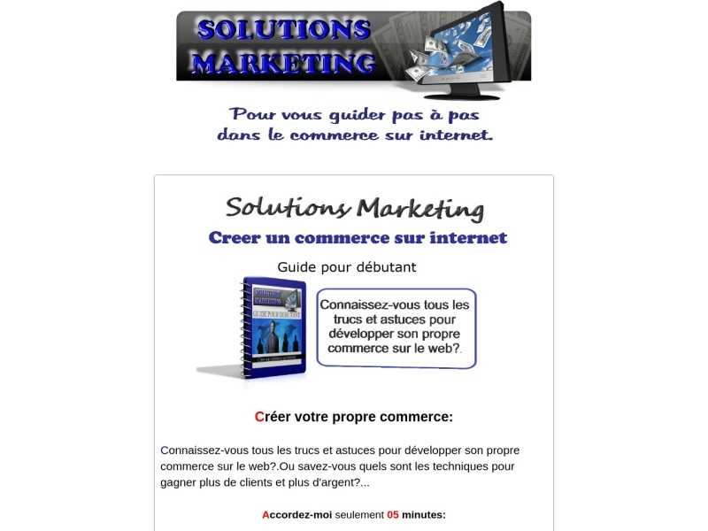 solutions marketing guide pour debutant