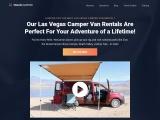 Vegas Campers Rent My Las Vegas Camper Van!