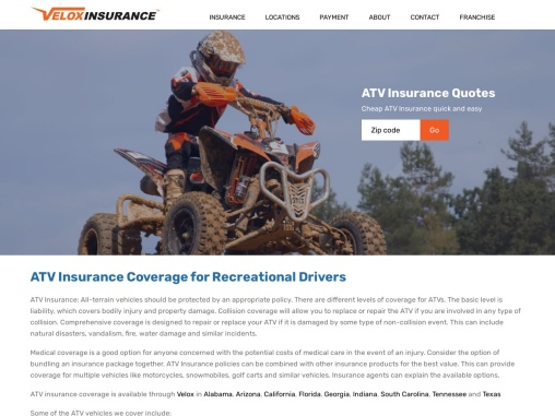 ATV Insurance Coverage For Recreational Drivers