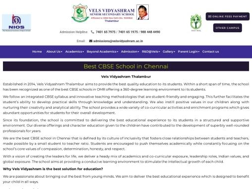 Best CBSE Schools in OMR Road Chennai