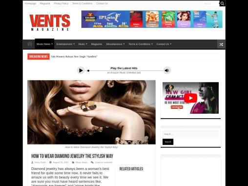 How to Wear Best 8 Diamond Jewelry the Stylish Way