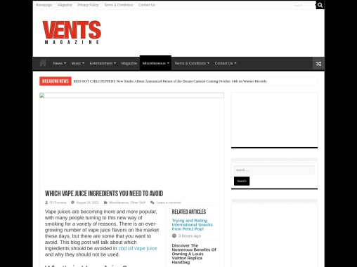 Which Vape Juice Ingredients should Be Avoided