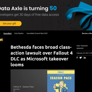 Bethesda faces broad class-action lawsuit over Fallout 4 DLC as Microsoft takeover looms | VentureBeat