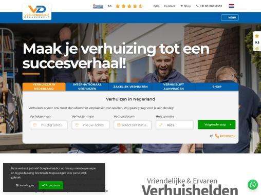 Verhuisbedrijf Draagkracht | nr1. erkende verhuisbedrijf van Nederland