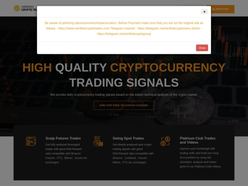 Verified Crypto Traders- Best Crypto Trading Platform