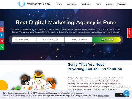 Best Digital Marketing Agency in Pune | Vermogen Digital