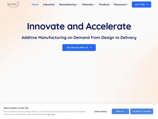 3d printing technology bangalore – Vexmatech