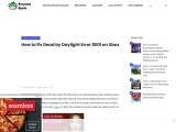 How to Fix Dead by Daylight Error 8001 on Xbox