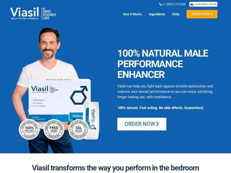 Viasil screenshot