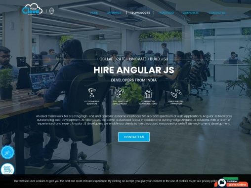 Hire Angular Developers in India