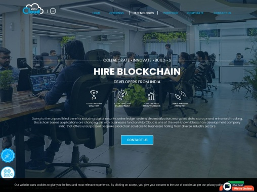 Hire Blockchain Developers in India