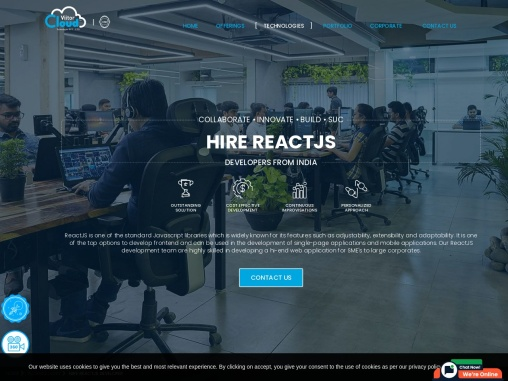 Hire React JS Developers in India