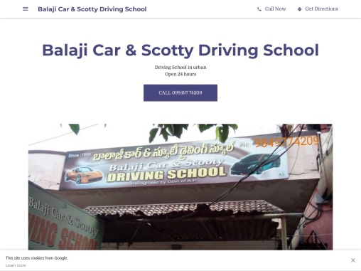 Balaji Car Driving School Vijayawada – Car Driving School Near me